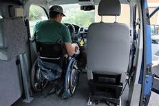 driving from chair