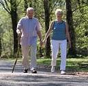 old walking